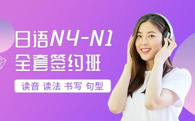 南通日語N4-N1全套簽約班