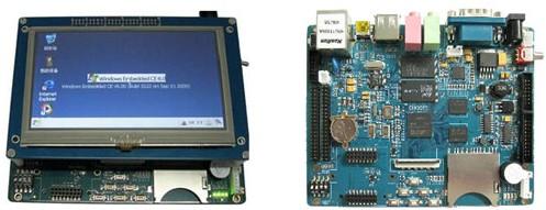 嵌入式培训 TQ6410 4.3LCD 与TQ6410对比