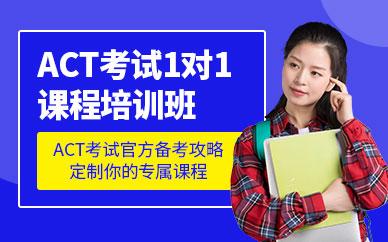 ACT考试一对一培训课程